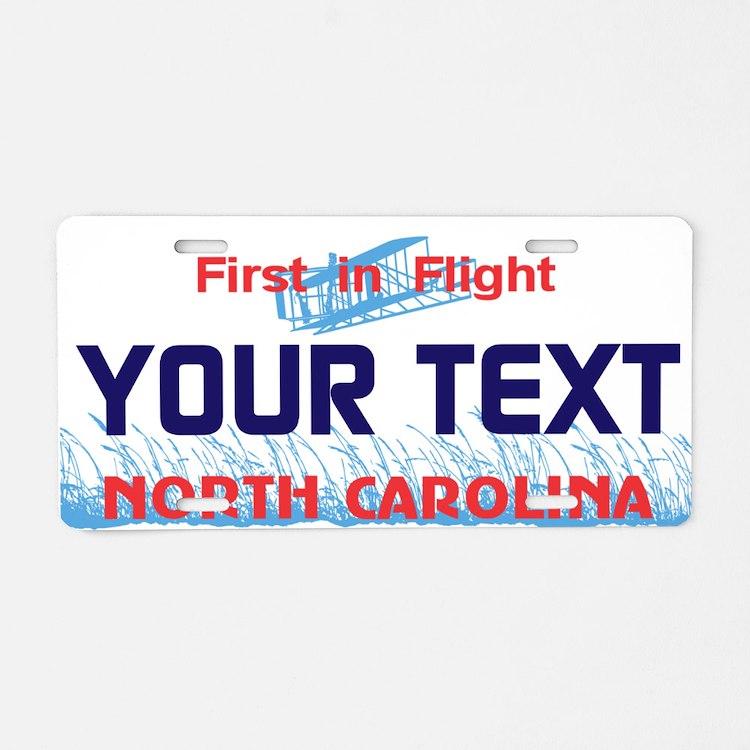 North Carolina - First in Flight License plate