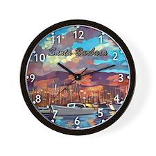 Santa Barbara Wall Clock