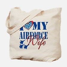 I Love My Airforce Wife Tote Bag