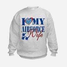I Love My Airforce Wife Sweatshirt