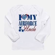 I Love My Airforce Uncle Long Sleeve T-Shirt