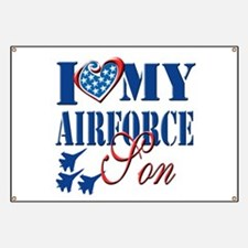 I Love My Airforce Son Banner