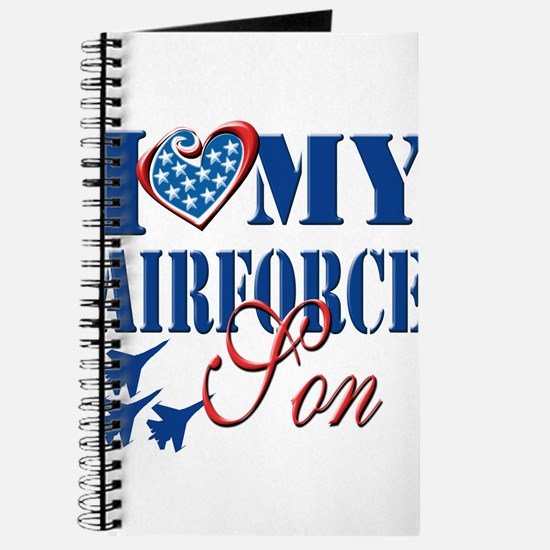 I Love My Airforce Son Journal