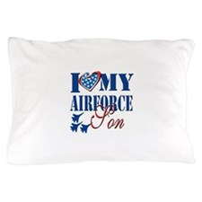 I Love My Airforce Son Pillow Case
