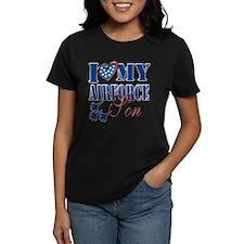 I Love My Airforce Son T-Shirt