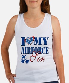 I Love My Airforce Son Tank Top