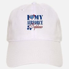 I Love My Airforce Nephew Baseball Baseball Baseball Cap