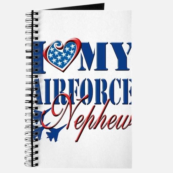I Love My Airforce Nephew Journal