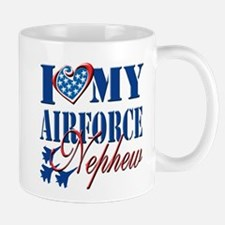 I Love My Airforce Nephew Mug