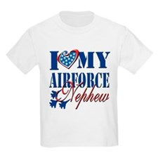 I Love My Airforce Nephew T-Shirt