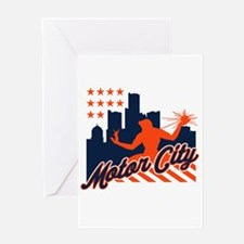 Motor City Greeting Card