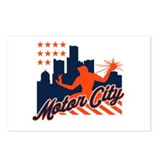 Motor City Postcards (Package of 8)