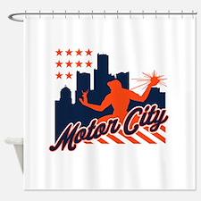 Motor City Shower Curtain