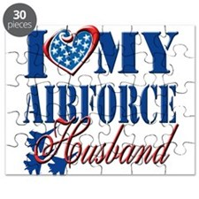 I Love My Airforce Husband Puzzle