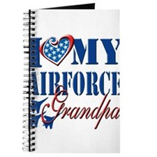 I Love My Airforce Grandpa Journal