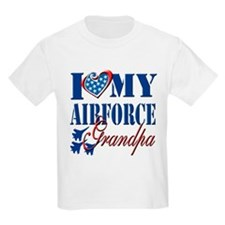 I Love My Airforce Grandpa T-Shirt