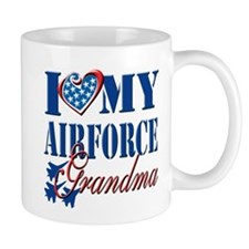 I Love My Airforce Grandma Mug