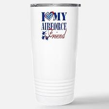 I Love My Airforce Friend Travel Mug