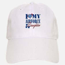 I Love My Airforce Daughter Baseball Baseball Baseball Cap