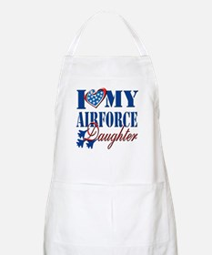 I Love My Airforce Daughter Apron