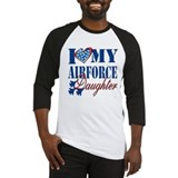 Airforce mom Baseball Tee