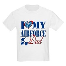 I Love My Airforce Dad T-Shirt