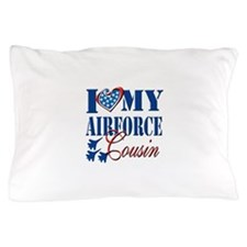 I Love My Airforce Cousin Pillow Case
