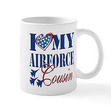 I Love My Airforce Cousin Mug