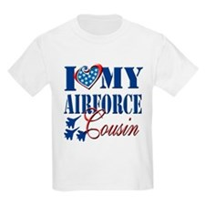 I Love My Airforce Cousin T-Shirt