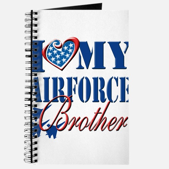 I Love My Airforce Brother Journal