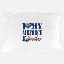 I Love My Airforce Brother Pillow Case