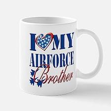 I Love My Airforce Brother Mug