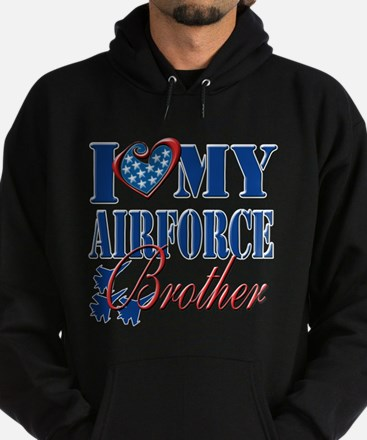 I Love My Airforce Brother Hoodie