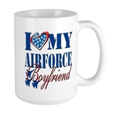 I Love My Airforce Boyfriend Mug