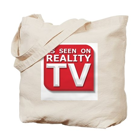 Funny As Seen on Reality TV Logo Tote Bag