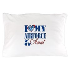 I Love My Airforce Aunt Pillow Case