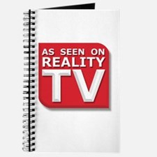 Funny As Seen on Reality TV Logo Journal