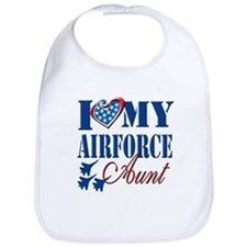I Love My Airforce Aunt Bib