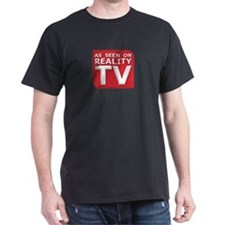 Funny As Seen on Reality TV Logo T-Shirt
