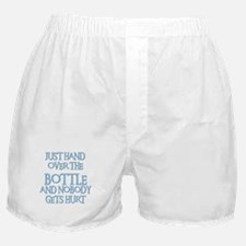 HAND OVER THE BOTTLE Boxer Shorts