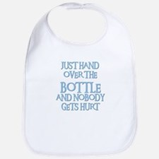 HAND OVER THE BOTTLE Bib