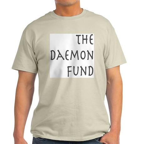 The Daemon Fund Original Logo Light T-Shirt