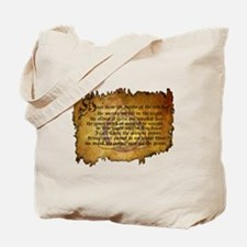 charmed invoking spell Tote Bag