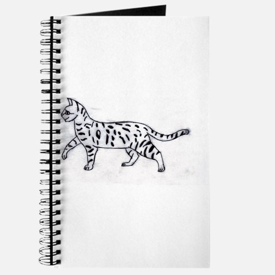 Bengal or Savannah Cat Journal