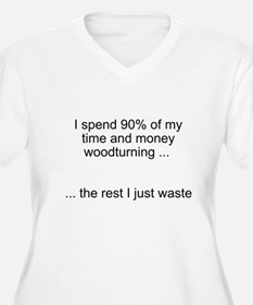 Time wasted. Plus Size T-Shirt