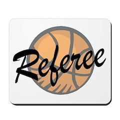 Basketball Referee Mousepad
