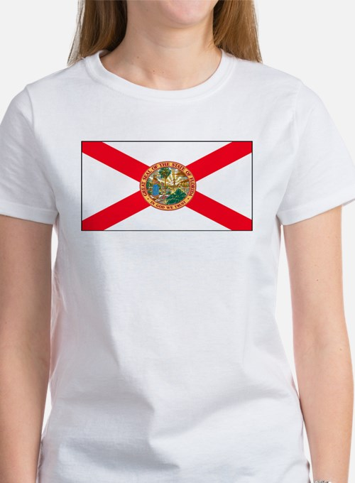 Florida Sunshine State Flag Women's T-Shirt