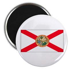 """Florida Sunshine State Flag 2.25"""" Magnet (10 pack)"""