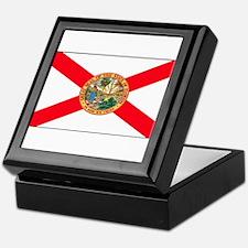 Florida Sunshine State Flag Keepsake Box