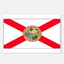 Florida Sunshine State Flag Postcards (Package of